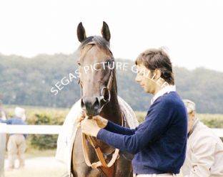 Wollow with Gianfranco Dettori with Henry Cecil (678-06)